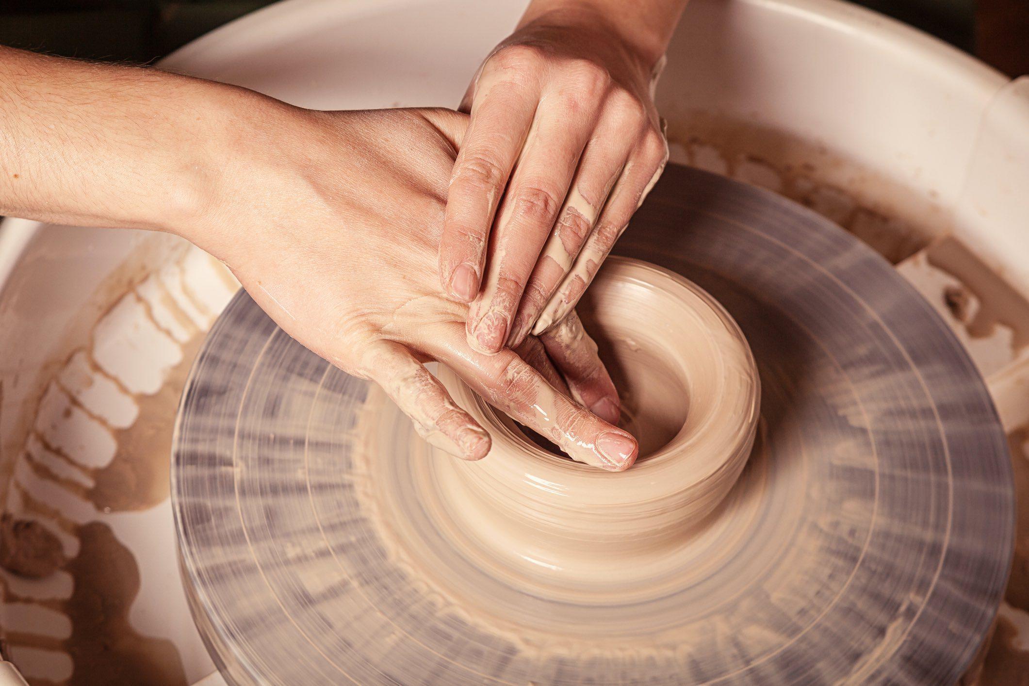 Create Art Studio In-person pottery camp class at Toronto's best art school