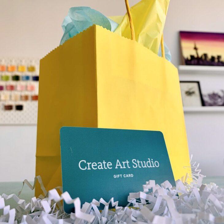 Create Art Studio Gift Card