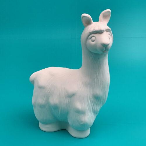 Create Art Studio DIY Ceramics Paint at Home Kit to go pottery at home llama money bank