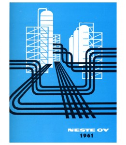 Awesome Finnish gas industry poster.