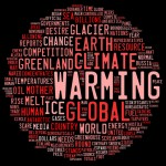 Global warming graphic.