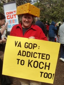Addicted to Koch sign