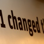 9-11 changed the world sign