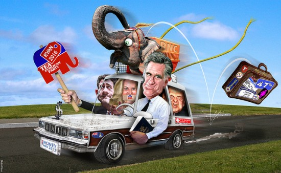 Romneymobile in the final stretch