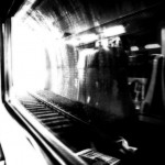 light in a subway tunnel