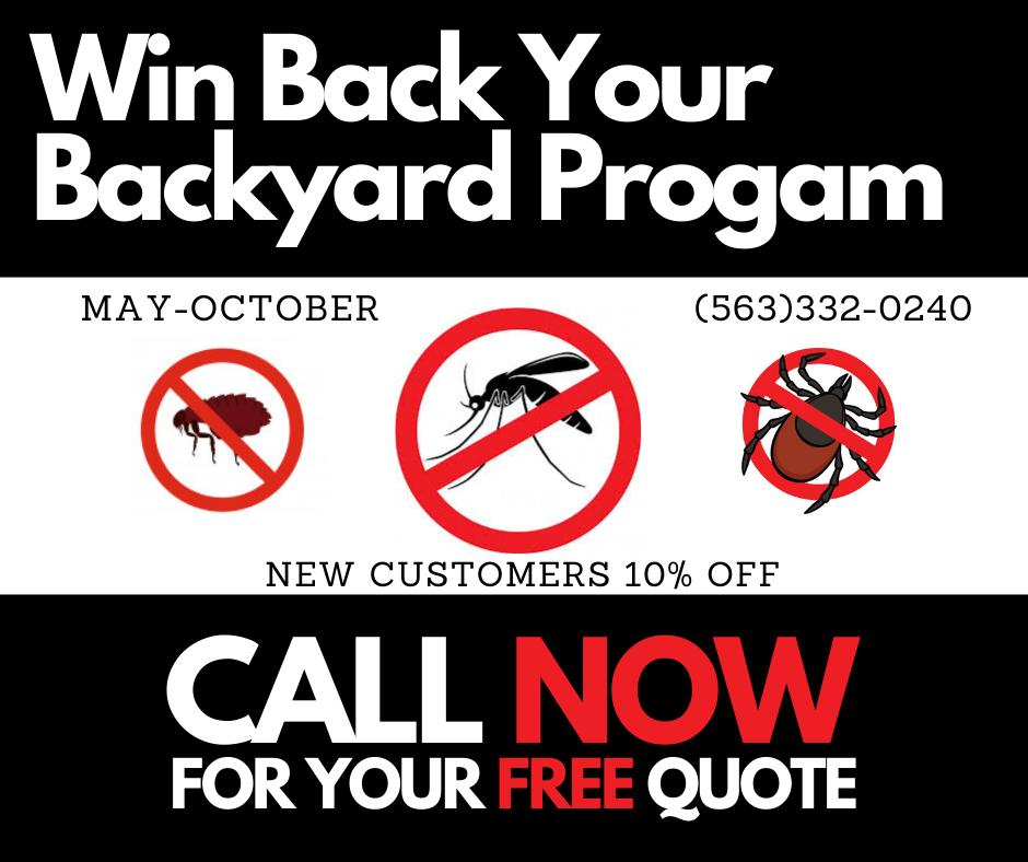 Win Back Your Backyard Progam