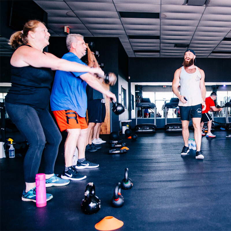Healthy lifestyle with a personal trainer in Mobile, Alabama