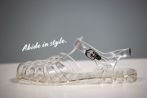 Men's Jelly Shoes - Dude Jellies - Lebowski Jelly Shoes