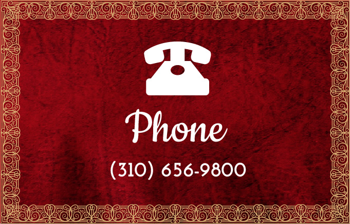 Phone Number 1 (310) 656-9800