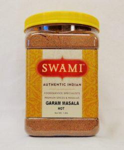 SW JSG Garam Masala Hot FRONT