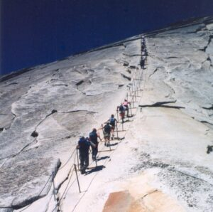 Half Dome Hike: famous Cable Route