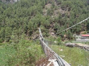 Everest Base Camp: five suspension bridges to Namche