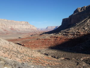 Similar bands of color as the Grand Canyon.