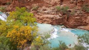 Beaver Falls is a hidden gem, perhaps the most magical of the Havasu Creek cascades