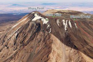 Summit Kilimanjaro: Final ascent along the caldera edge