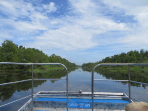 Airboat ride in Lake Panosoffkee
