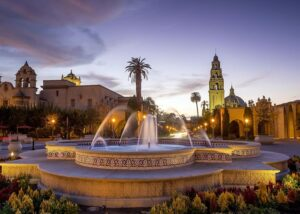 Cycling to San Diego: Balboa Park in San Diego is a stunning destination