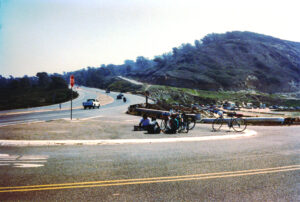 Cycling to San Diego: Torrey Pines Road is steep
