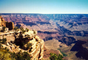 Grand Canyon, as seen above Indian Garden