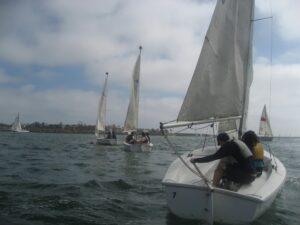 Sail Marina del Rey: At the helm