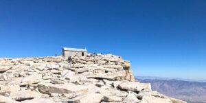 Mt. Whitney hike, summit hut