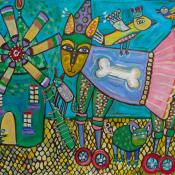 Holly Atkinson-Whimsicality-18x24