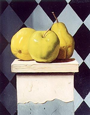 Pears on a Pedestal