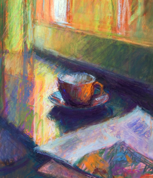 Sandra Burshell-AFTERNOON CUP 8.5x7.25