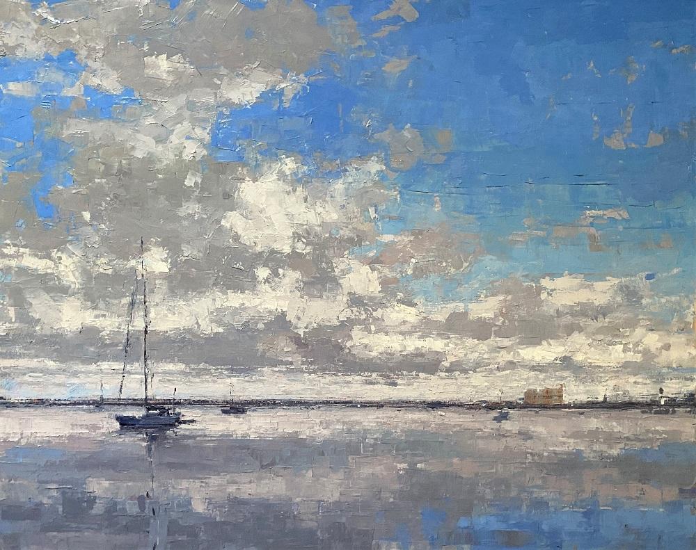 Curtis-Stewart-Jaunsen-Safe-Harbor-24x30-oil-on-canvas