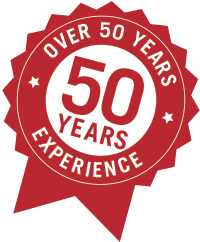 Over 50 years Experience in Heating & Cooling