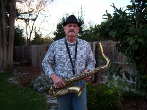 Stan with Saxophone