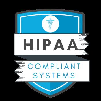 HIPAA compliant trust seal.