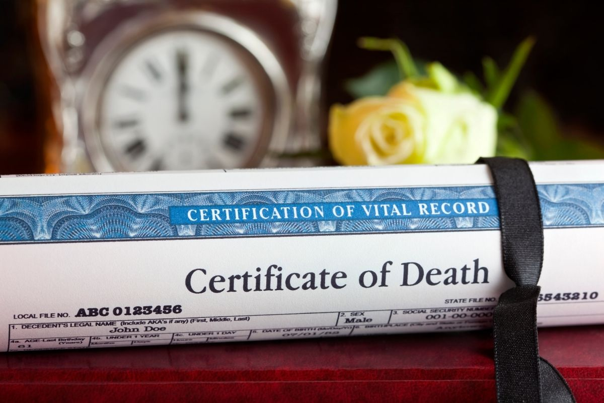How to Get a Death Certificate in California