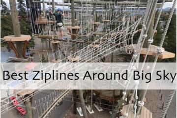 The Best Ziplines Around Big Sky