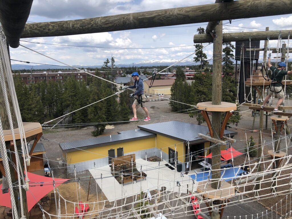 yellowstone aerial adventures has some of the best ziplines around big sky