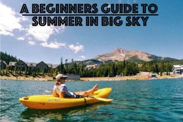 summer in big sky