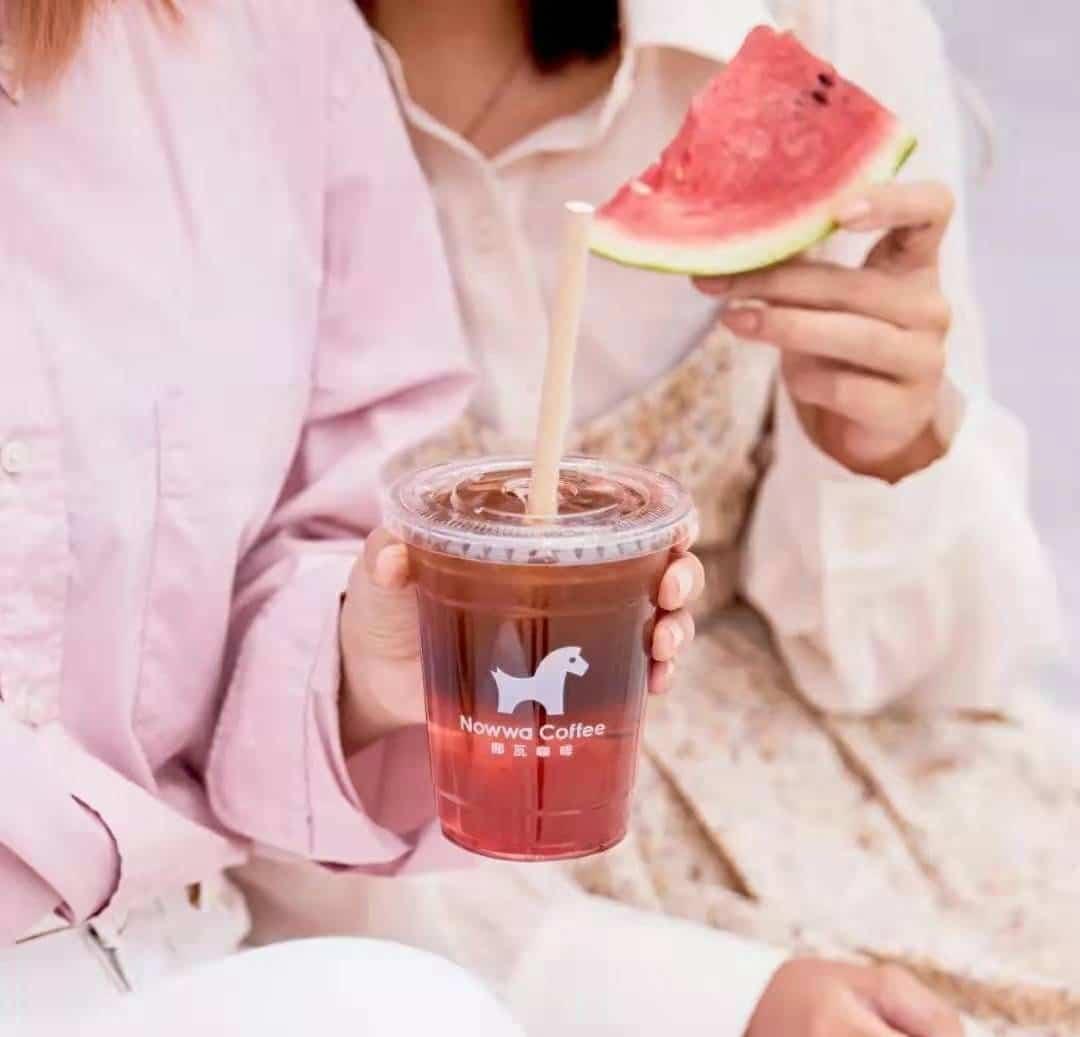 Nowwa coffee brings fruit coffee products - food tech news in Asia