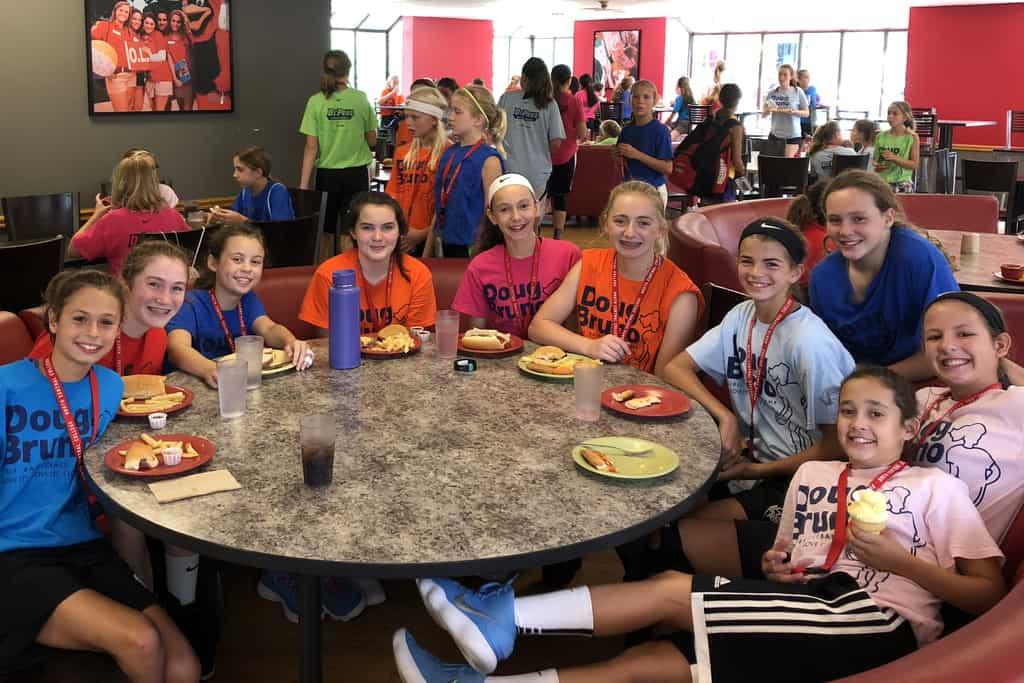 girls basketball camp naperville cafeteria