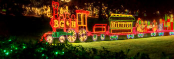 """Magic Christmas in Lights Magic Christmas in Lights in USA Today's 2020 Top 10 """"Best Botanical Garden Holiday Light Displays in America"""""""