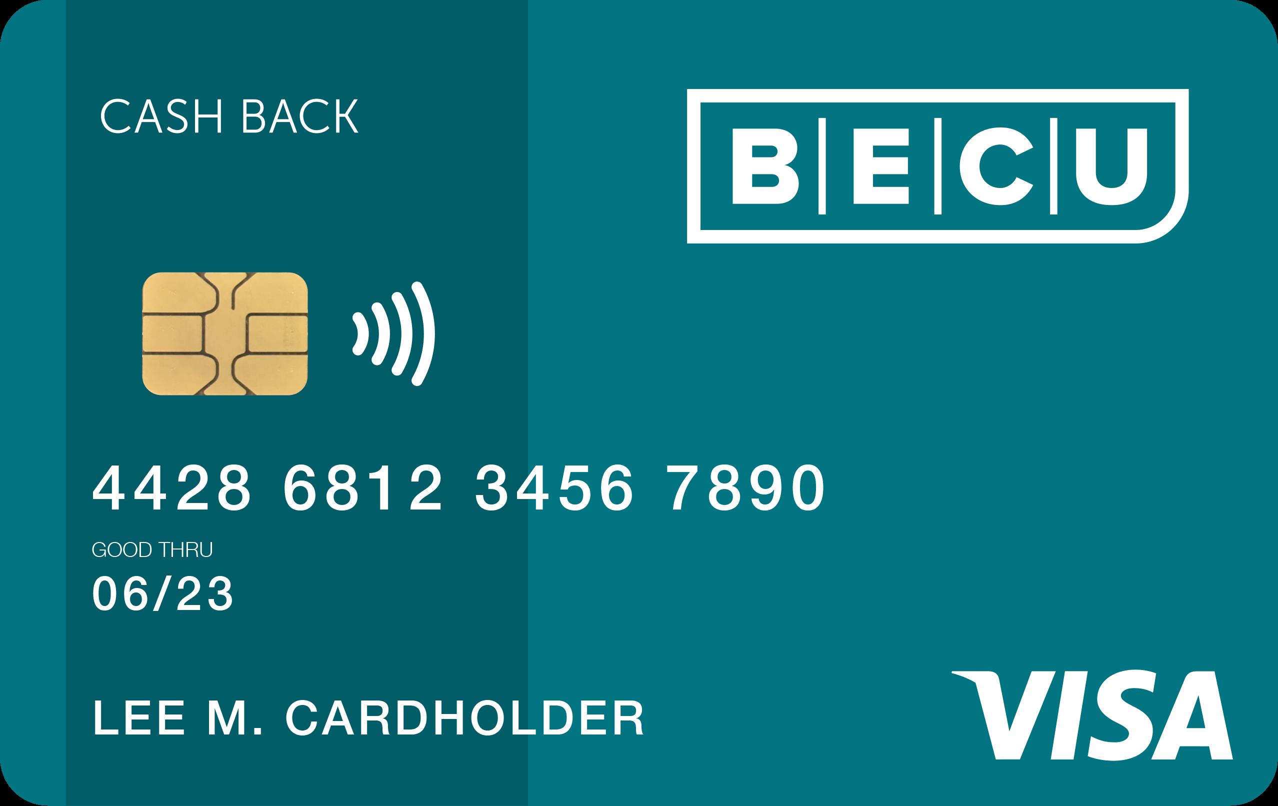 BECU Visa Cash Back