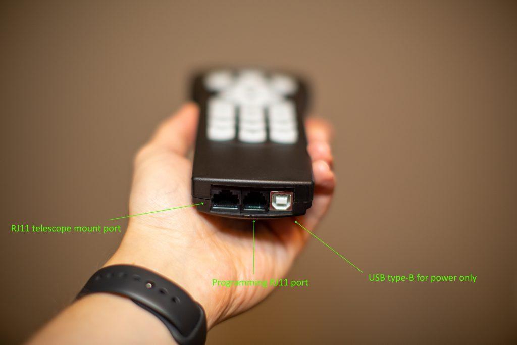 V5 SynScan hand controller