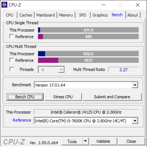 GMK NucBox CPU-Z Page 7