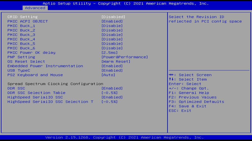 System Component Page
