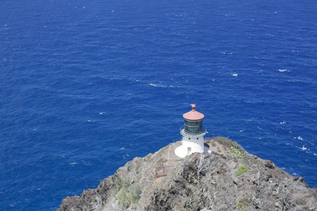 The Makapu'u lighthouse