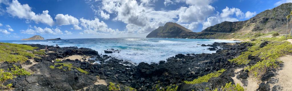 Makapu'u Beach on Oahu Hawaii