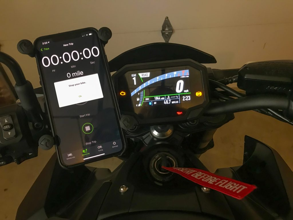 Rideology app has a bug of detecting when the bike is riding.