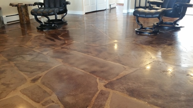 Flooring Removal and Overlay