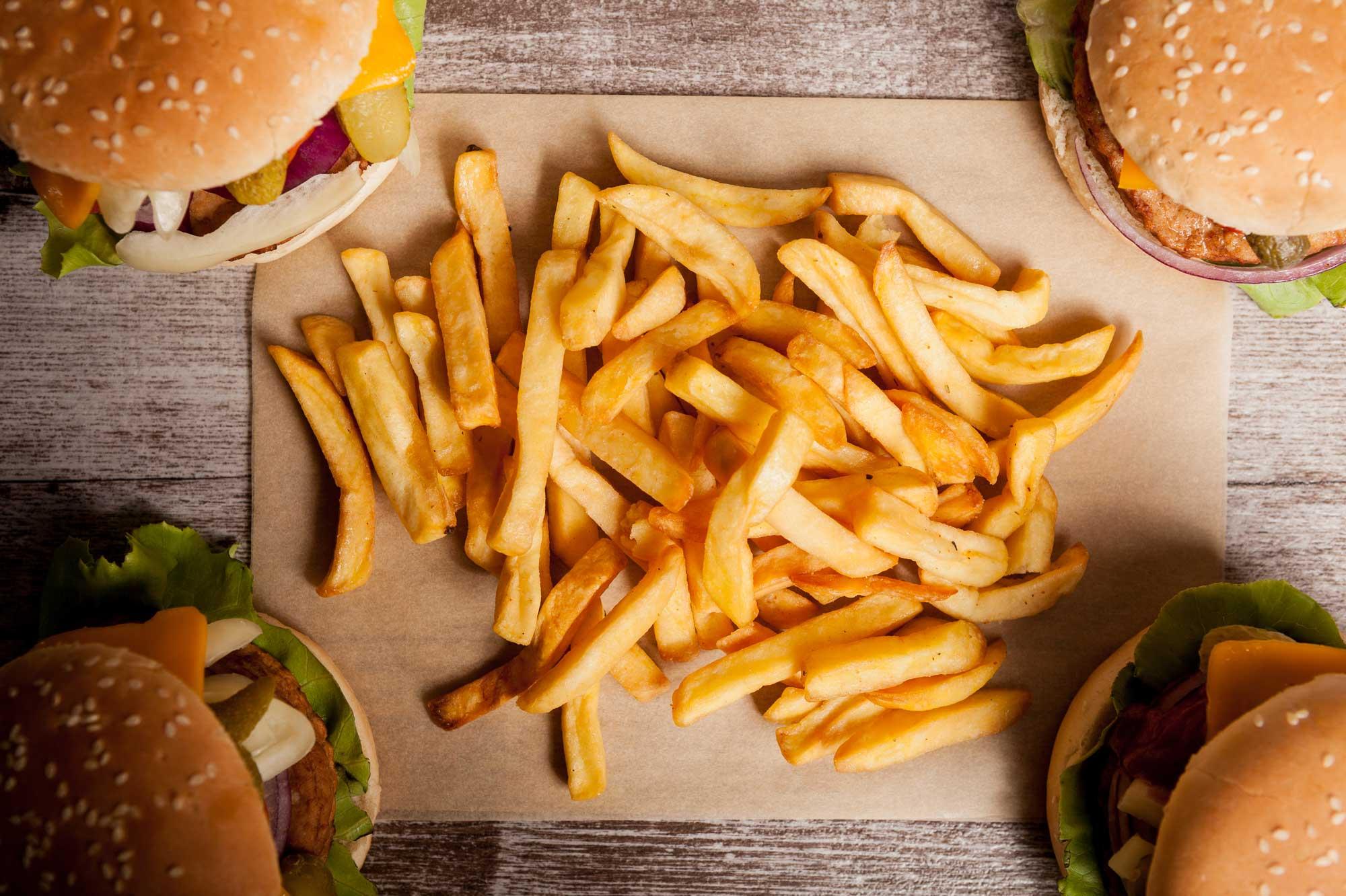 2020 Market Kids Menu Cheeseburger and Fries