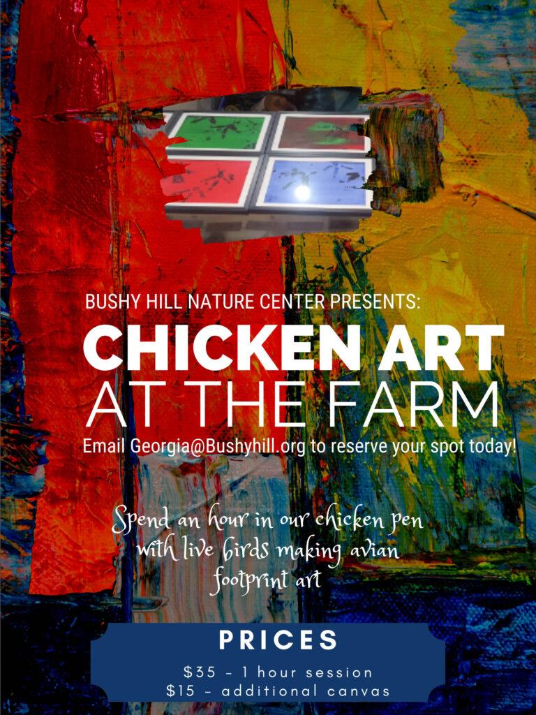 Chicken Art at the Farm