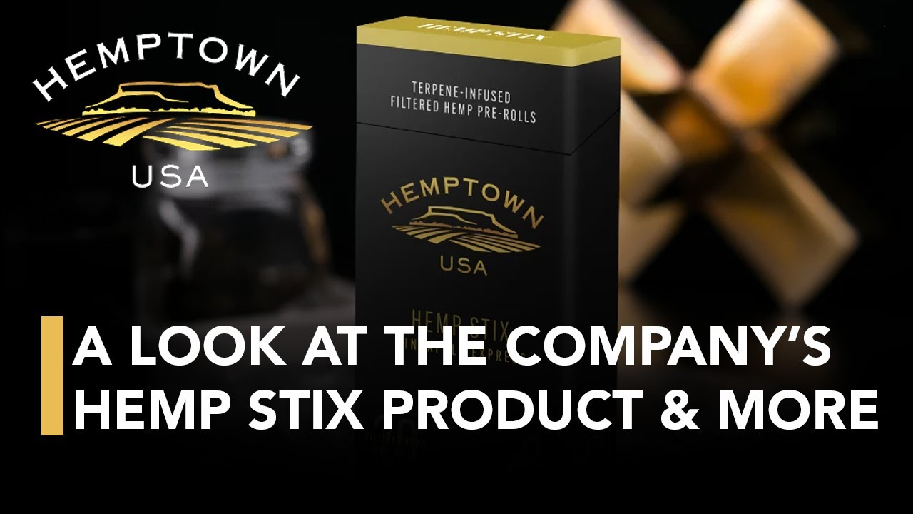 Hemptown; A Look at the Company's Incredible Hemp Stix Product & More